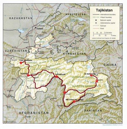 PAMIR ENDURO MOTORCYCLE TOUR (Tajikistan)