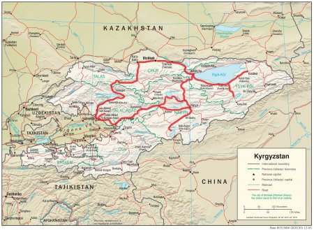 «THE GREAT TYAN-SHAN» ADVENTURE MOTORCYCLE TOUR (Kazakhstan - Kyrgyzstan)
